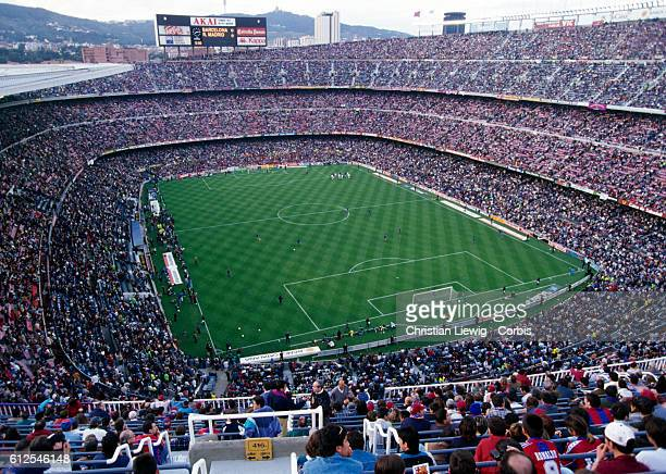 General view of the Camp Nou Stadium in Barcelona | Location Barcelona Spain