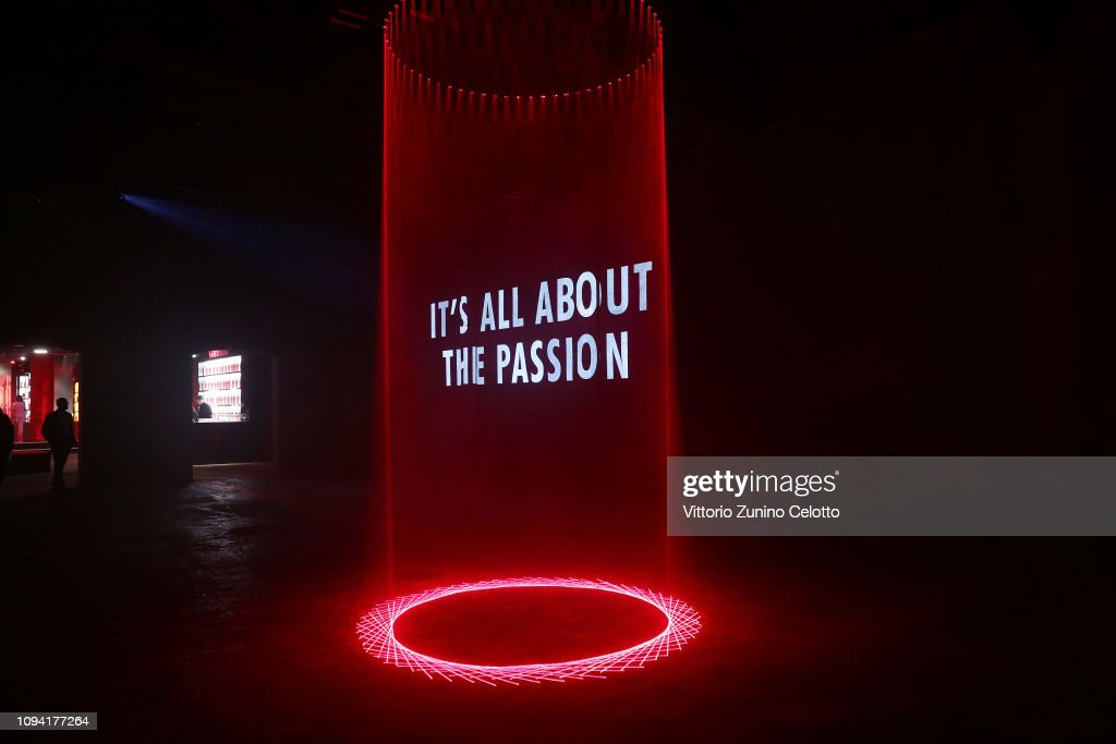 d42d59df6f1 A general view of the Campari Red Diaries 2019 Premiere Event on ...