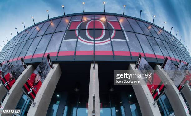 General view of the Canadian Tire Centre before the NHL game between the Ottawa Senators and the Detroit Red Wings on Oct. 7, 2017 at the Canadian...