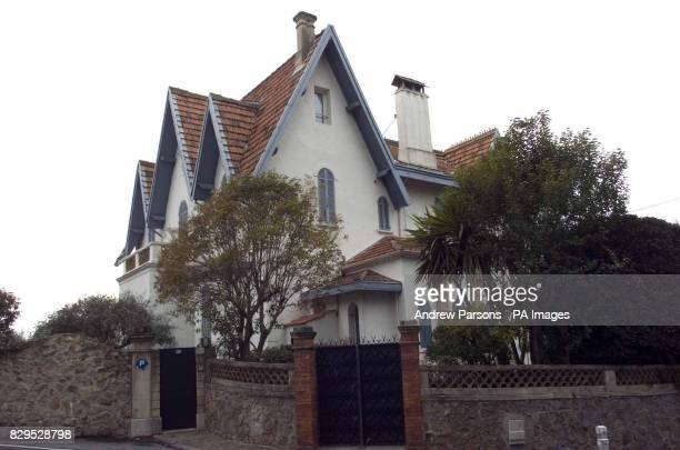 General view of the Cannes home of Jamila M'Barek who is receiving treatment for depression after allegedly admitting she played a part in the...