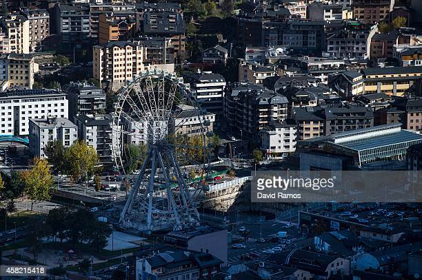 A general view of the capital on October 31 2014 in Andorra la Vella Andorra Andorra is a tax haven status although it is in the process of reforming...