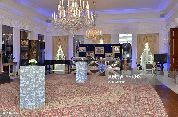 General view of the Capitol File's WHCD Welcome Reception at The British Embassy on May 2 2014 in Washington DC