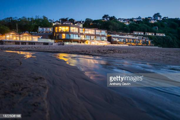 General view of the Carbis Bay hotel and beach resort, the venue for the G-7 Summit on June 04, 2021 in Carbis Bay, Cornwall. On June 11, Prime...