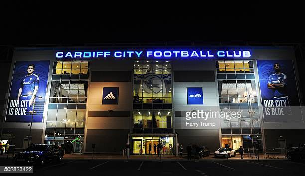 General view of the Cardiff City Stadium prior to kick off during the Sky Bet Championship match between Cardiff City and Nottingham Forest at the...