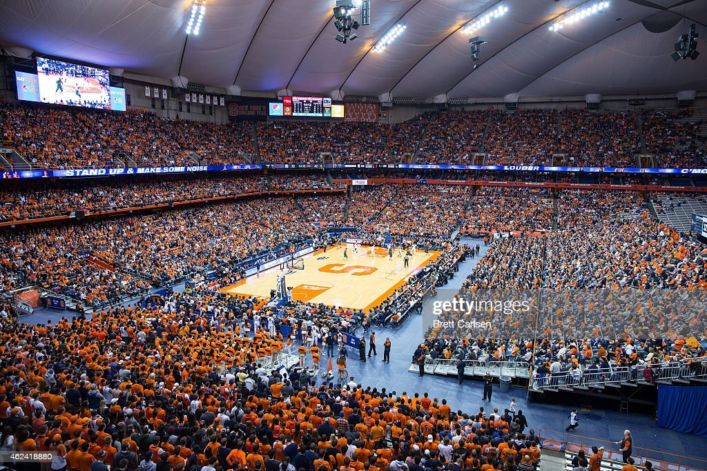General View Of The Carrier Dome During The Game Between The