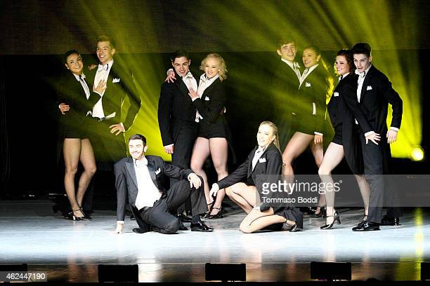 A general view of the cast of So You Think You Can Dance Season 11 Tour held at Nokia Theatre LA Live on January 28 2015 in Los Angeles California