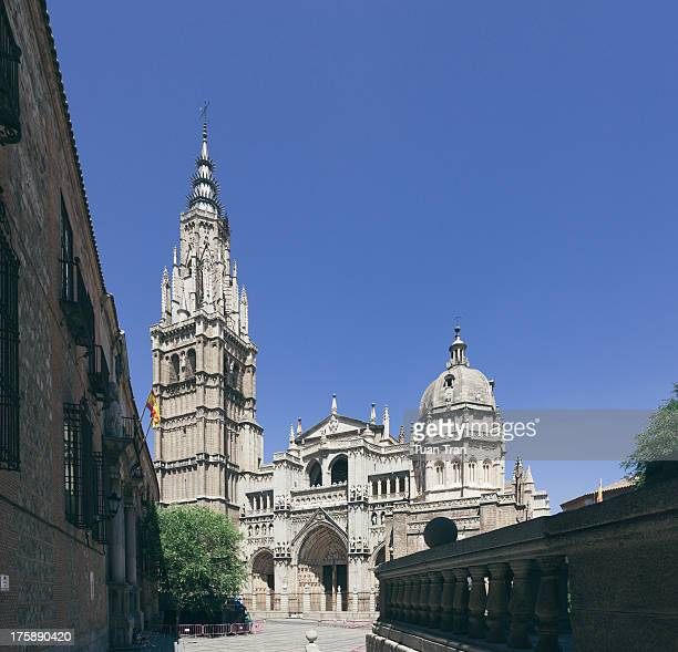 CONTENT] General view of the cathedral of Toledo Spain on July 16 2012
