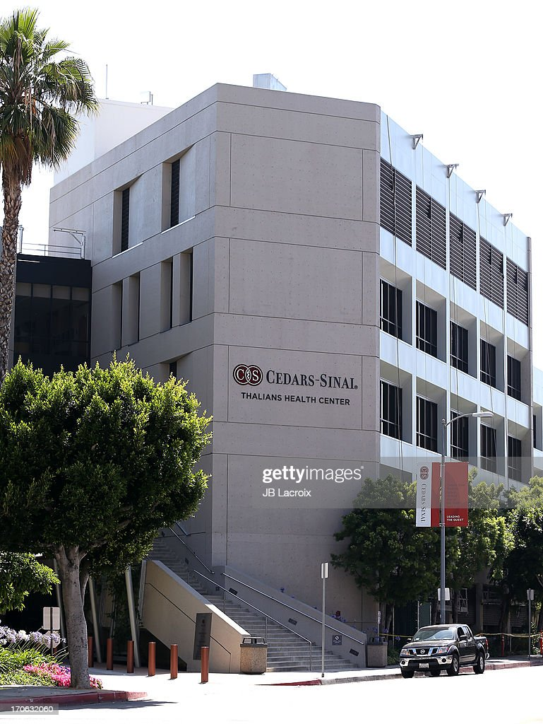 General view of the Cedars-Sinai Medical Center where Kim Kardashian and Kanye West welcomed a baby girl on June 15, 2013 in Los Angeles, California.