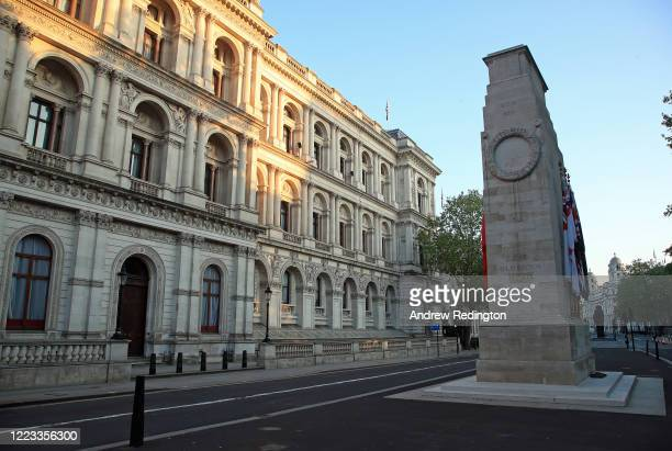General view of The Cenotaph on May 07, 2020 in London, England. The UK is continuing with quarantine measures intended to curb the spread of...