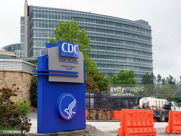 General view of the Centers for Disease Control and Prevention Edward R. Roybal campus in Atlanta, Georgia on April 23, 2020. - The worldwide death...