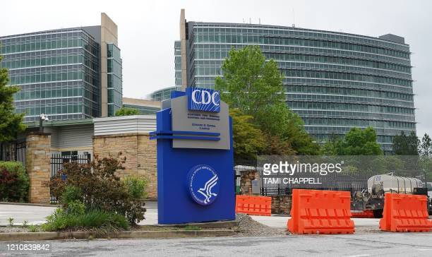 A general view of the Centers for Disease Control headquarters in Atlanta Georgia on April 23 2020 The worldwide death toll from the novel...
