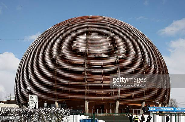 A general view of the CERN on February 12 2009 in Geneva Switzerland