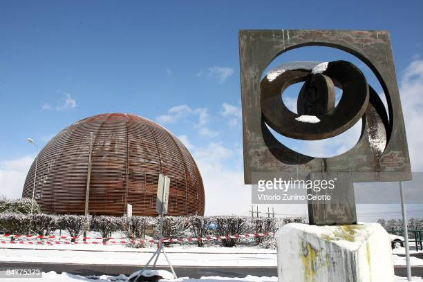 General view of the CERN on February 12 2009 in Geneva Switzerland