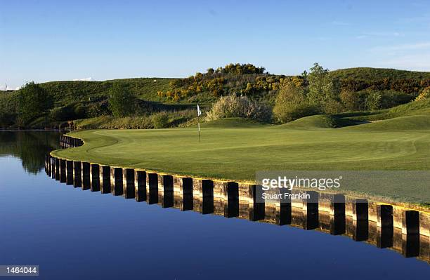 General view of the championship course during the Novotel Perrier Open de France held on May 5 2002 at the Le Golf National Golf Course in Paris...