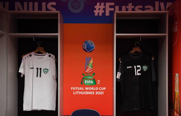 LTU: Uzbekistan v Football Union Of Russia: Group B - FIFA Futsal World Cup 2021