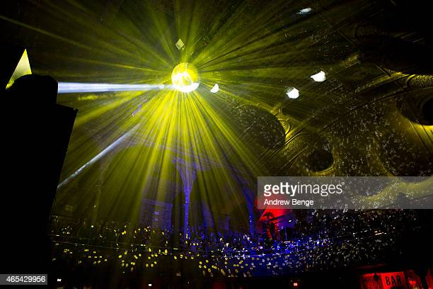 General view of The Charlatans at Albert Hall on March 6 2015 in Manchester United Kingdom