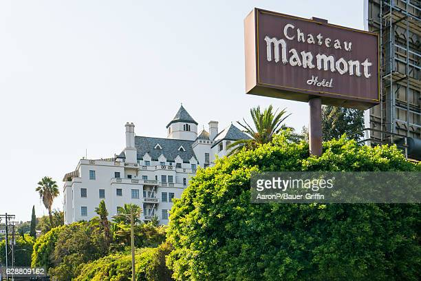 General view of the Chateau Marmont Hotel on December 05 2016 in Los Angeles California