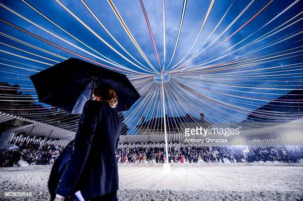 General view of the Christian Dior Couture S/S19 Cruise Collection on May 25 2018 in Chantilly France