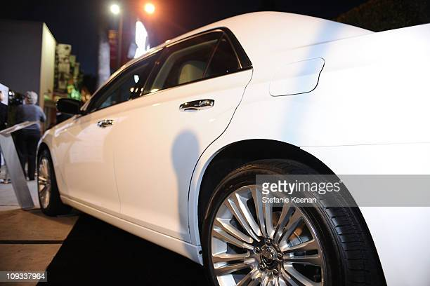 """General view of the Chrysler 300 as Vanity Fair Campaign Hollywood 2011 kicks off with Chrysler Celebrating """"The Fighter"""" held at the District on..."""