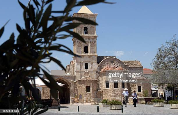 General view of the Church of Saint Lazarus in LARNACA on May 24 2013 in Larnaca Cyprus