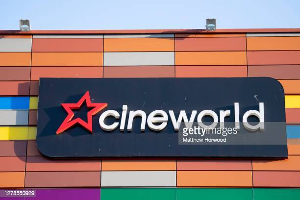 A general view of the Cineworld cinema on September 14 2020 in Newport Wales The cinema is drawing up plans to close all 128 of its cinemas putting...
