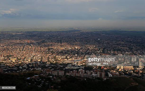A general view of the city ahead of the FIFA Futsal World Cup on September 7 2016 in Cali Colombia