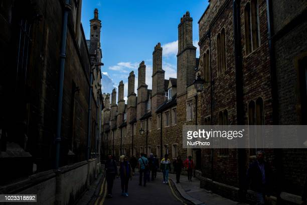 General view of the city centre of Cambridge on August 25 2018 Cambridge is home to the worldrenowned University of Cambridge which was founded in...