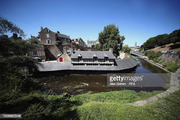 General view of the city during the FIFA U-20 Women's World Cup France 2018 on August 2, 2018 in Vannes, France.