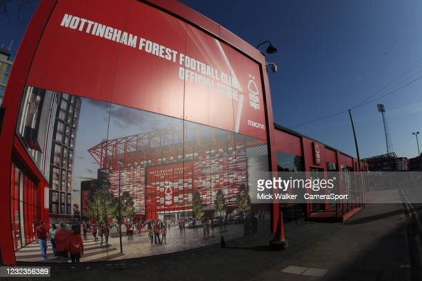 General view of the City Ground home of Nottingham Forest during the Sky Bet Championship match between Nottingham Forest and Huddersfield Town at...