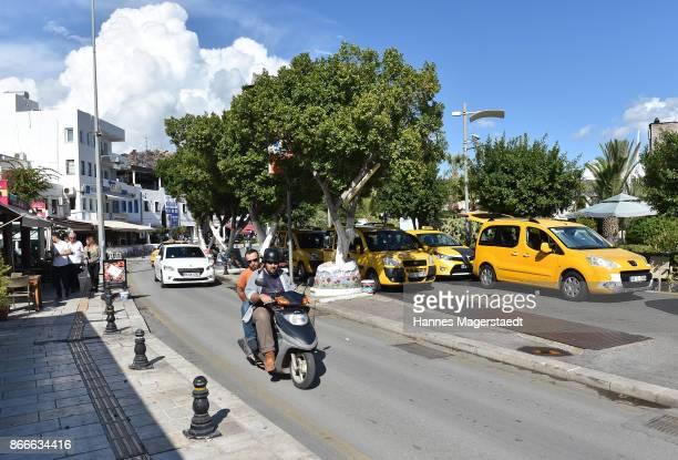 General view of the city of Bodrum during the '60 Jahre DeutschTuerkische Freundschaft' press journey to Bodrum on October 25 2017 in Bodrum Turkey