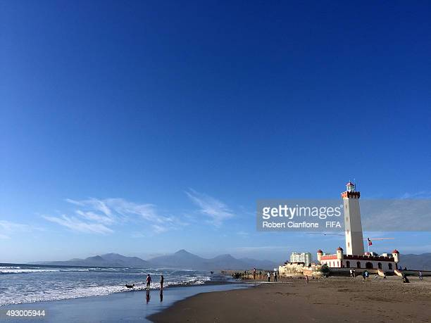 A general view of the city of La Serena on October 16 2015 in La Serena Chile