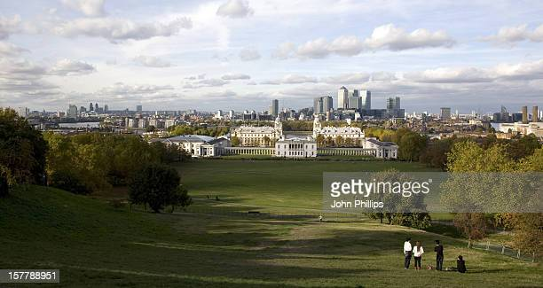 A General View Of The City Of London Taken From Greenwich Park During Autumn