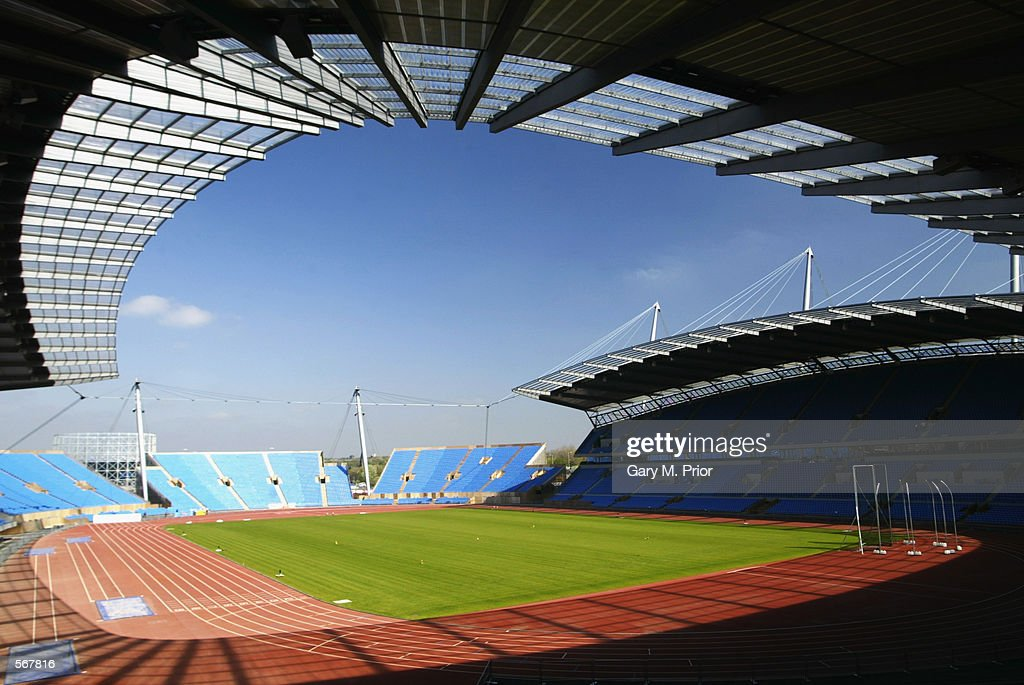 City Of Manchester Stadium: General View Of The City Of Manchester Stadium Which Will