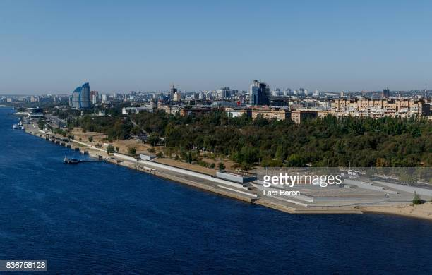 A general view of the city on August 22 2017 in Volgograd Russia