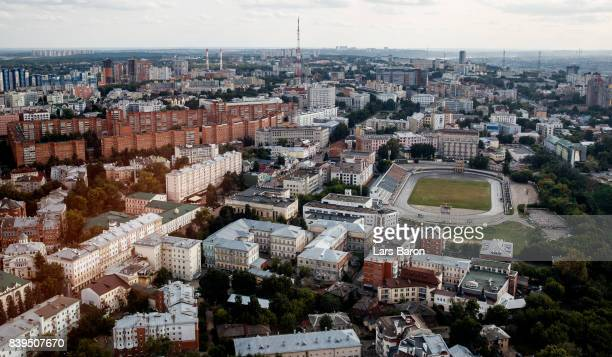 General view of the city on August 26, 2017 in Nizhny Novgorod, Russia.