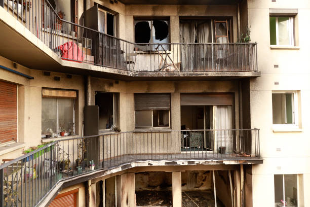 FRA: Building Where Miss France Clemence Botino Resides Has Burnt Out