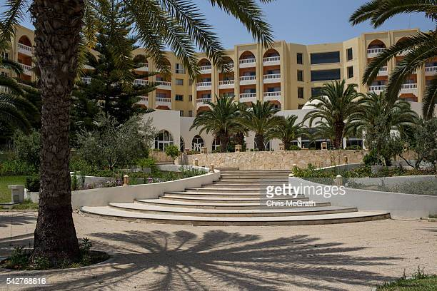 A general view of the closed Imperial Marhaba Hotel on June 24 2016 in Sousse Tunisia The Imperial Marhaba hotel was the main target of the 2015...
