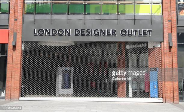 General view of the closed London Designer Outlet at Wembley Park on May 07 2020 in London England The UK is continuing with quarantine measures...