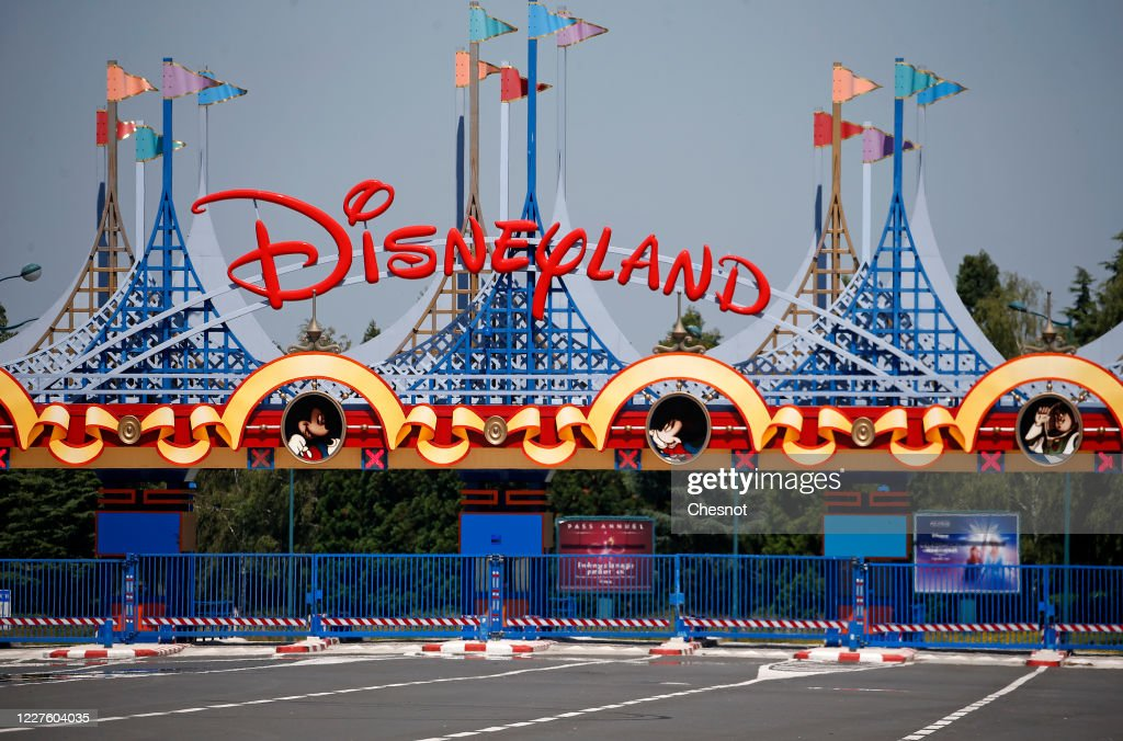 Disneyland Paris Remains Closed While France Eases Lockdown : News Photo