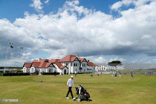 A general view of the club house during day four of the RA Amateur Championship at Portmarnock Golf Club on June 20 2019 in Portmarnock Ireland
