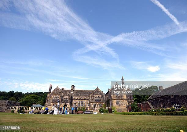 A general view of the club house during the Golfbreakscom PGA Fourball Championship North Qualifier at Woodsome Hall Golf Course on June 24 2015 in...