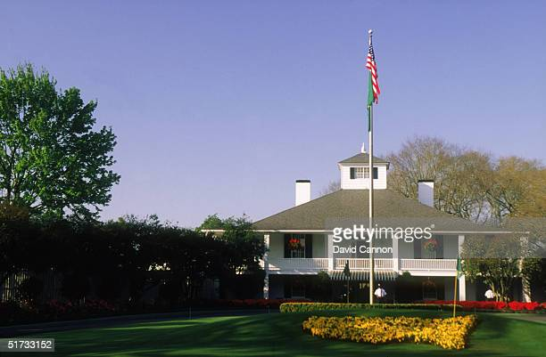 General view of the Club House taken at the Augusta National Golf Club during the US Masters tournament on April 11 1996 in Augusta Georgia USA