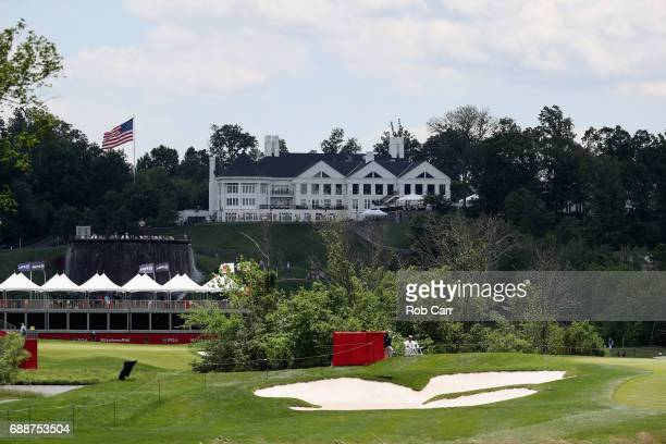 A general view of the clubhouse during Round 2 of the Senior PGA Championship at Trump National Golf Club on May 26 2017 in Sterling Virginia
