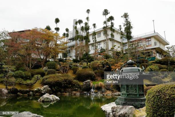 A general view of the clubhouse during the final round of the Hanasaka Ladies Yanmar Golf Tournament at Biwako Country Club on April 6 2018 in Ritto...