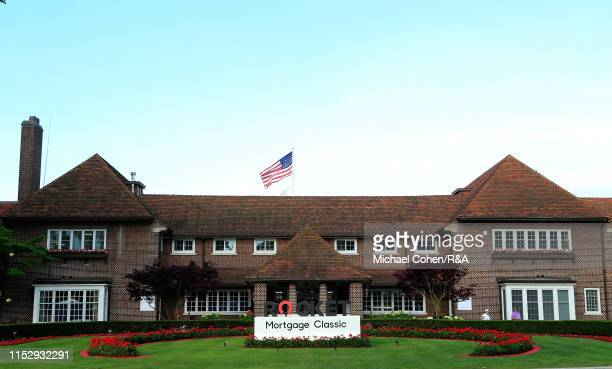 General view of the clubhouse during The Open Qualifying Series, part of the Rocket Mortgage Classic at Detroit Golf Club on June 30, 2019 in...