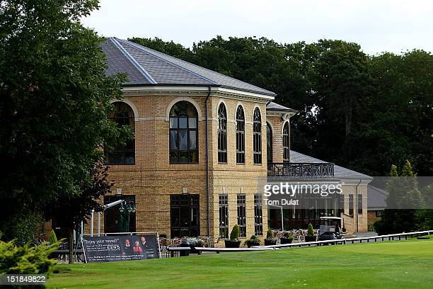 General view of the clubhouse during the PGA Super 60's Tournament at the De Vere Belton Woods Golf Club on September 12 2012 in Grantham England