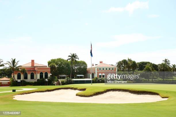 General view of the clubhouse during the TaylorMade Driving Relief Supported By UnitedHealth Group on May 17, 2020 at Seminole Golf Club in Juno...