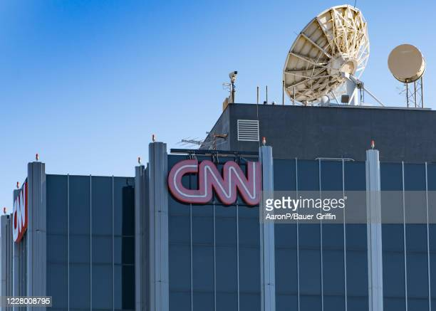 General view of the CNN West Coast headquarters on August 11, 2020 in Los Angeles, California.