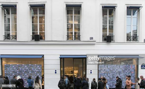 A general view of the 'Colette' concept store the day before it is permanently closed on December 19 2017 in Paris France