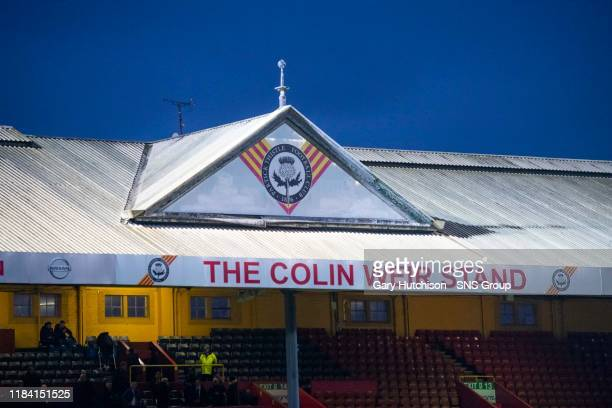 A general view of the Colin Weir Stand during the William Hill Scottish Cup Third Round match between Partick Thistle and Penicuik Athletic at The...